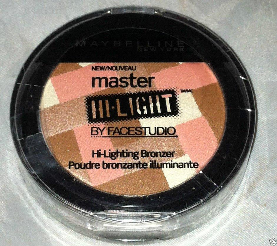 Maybelline Master Hi-Light Face Studio Hi-Lighting Bronzer Multi-Tone Palette BN