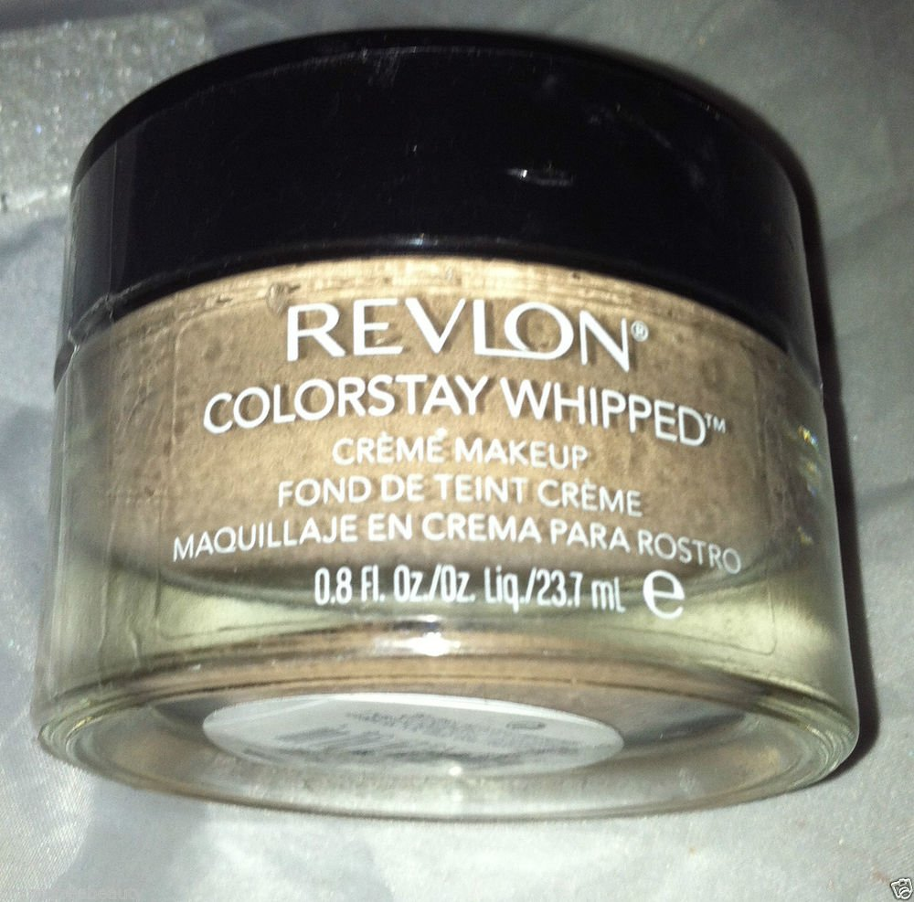 Revlon ColorStay Whipped Crème Makeup 24 Hour Foundation *240 NATURAL BEIGE* New