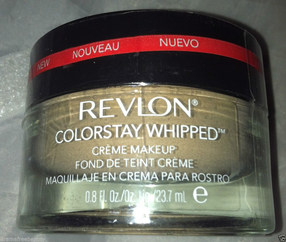 Revlon ColorStay Whipped Crème Makeup 24 Hour Foundation *200 SAND BEIGE * New
