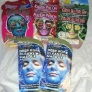 Montagne Jeunesse Deep Pore Cleansing Face Peel Mask/Masque Mixed 5pc Lot