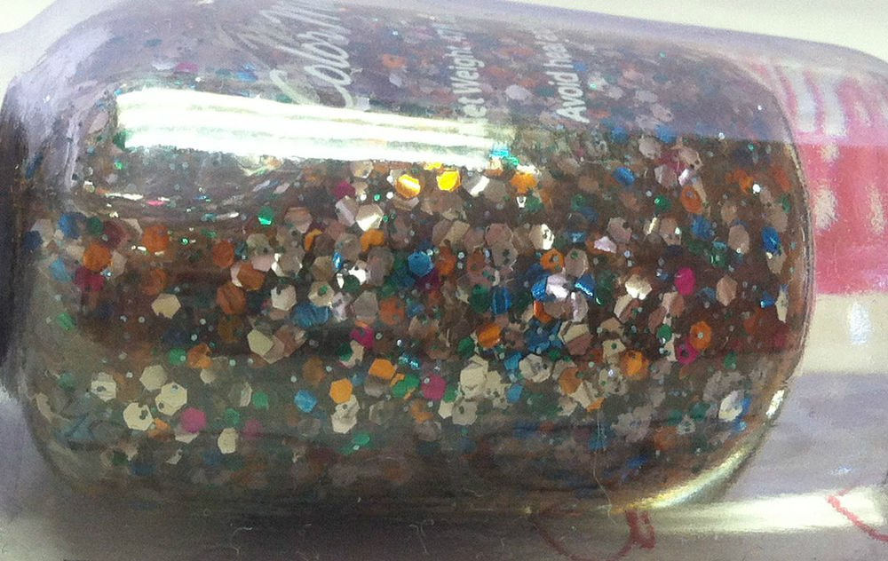 "COLORMATES Nail Polish ""Glitter Glam"" Long Wear High Gloss Chip Resistant BNIP"