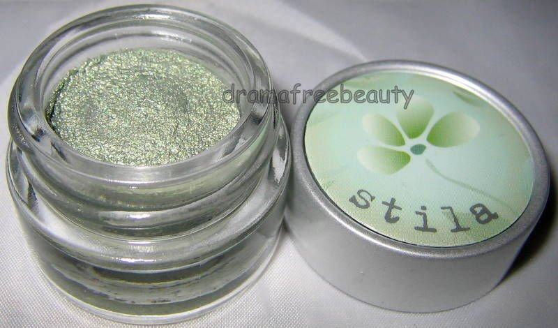 Stila Shadow Pots Cream Eye Shadow Mousse * LIME * Shimmery Pale Green Brand New