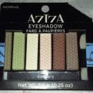 Aziza Eyeshadow 6-Color Palette Makeup/Cosmetic Kit *MEMPHIS* Nautral/Brown BNIB
