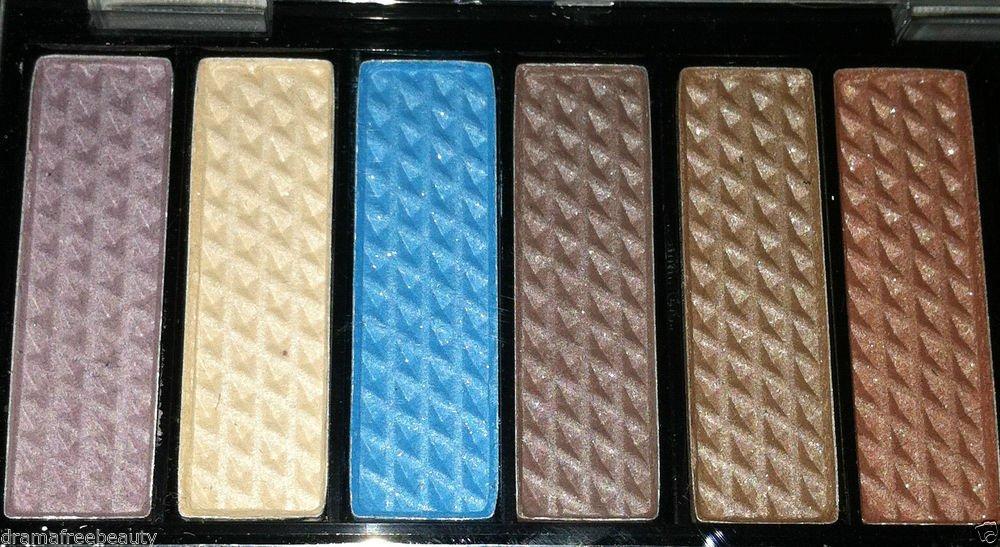 Aziza Eyeshadow 6-Color Palette Makeup/Cosmetic Kit *DENVER* Velvety Nudes BNIB