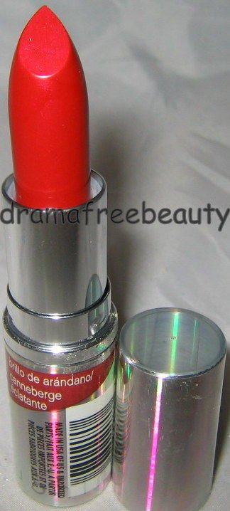 Cover Girl TruShine Lipstick 500 *CRANBERRY SHINE* Sheer Shiny Red Brand New HTF
