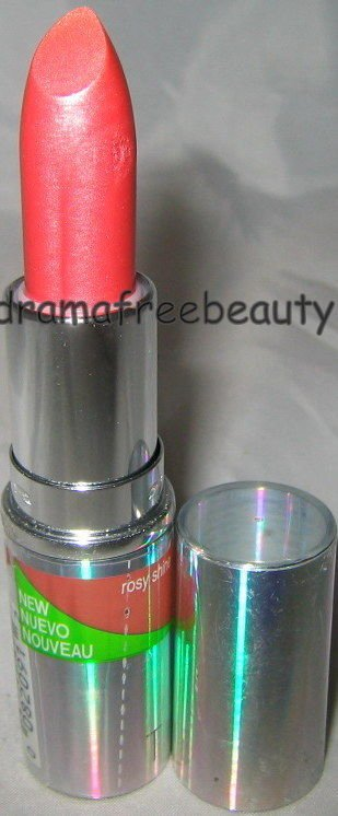 Cover Girl TruShine Lipstick 440 *ROSY SHINE* Sheer Shiny Soft Rose Pink NEW HTF