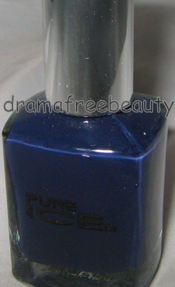 B. New Pure Ice Holiday Limited Edition Nail Polish *PARTY HARD* Deep Navy Blue
