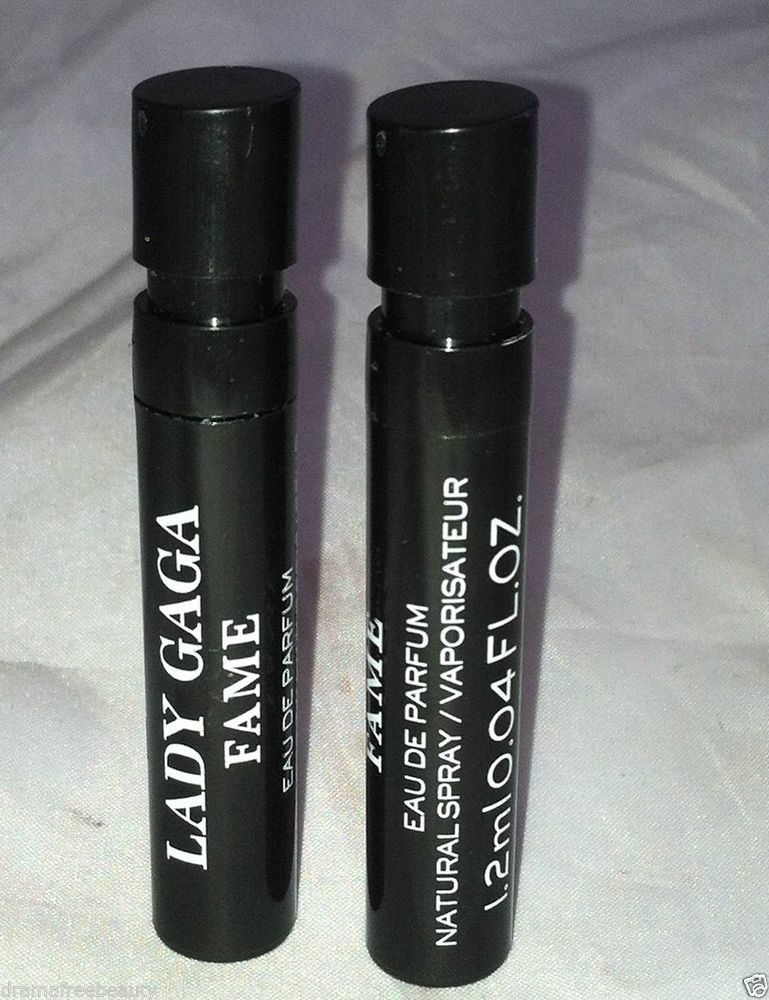 Lady Gaga Eau De Parfum * FAME * 2pc Travel/Sample Lot Brand New