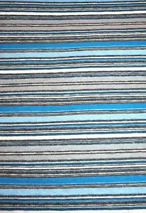 Blue/Gray/White/Light Blue Sewing Fabric  1.5yds X 1.5yds Knit Stretch Cotton