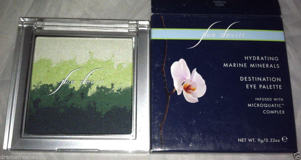 Sue Devitt Hydrating Marine Minerals Eye Shadow Palette *GREEN ISLES* $38+ BNIB