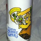 The Great Muppet Caper Vintage Glass Kermit The Frog Fozzie Bear The Great Gonzo