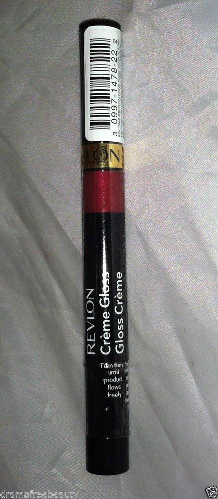 Revlon Creme Lip Gloss Stick * 050 CHERRY TART * Sealed Brand New