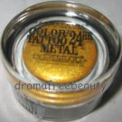 Maybelline COLOR TATTOO Metal 24HR Cream Gel Eye Shadow 65 *GOLD RUSH* Shimmer