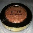 Milani Baked Powder Blush 06 *BELLISSIMO BRONZE* Peach Bronze Gold Shimmer B.New