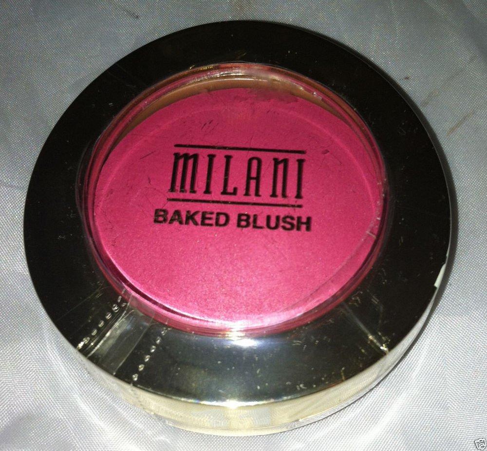 Milani Baked Powder Blush 11 *BELLA ROSA* Bright Matte Raspberry Pink BN &Sealed