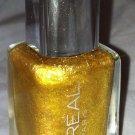 L'oreal Lmtd Ed. Colour Riche Nail Polish 695 *AMAZON'S FLASH* Fine Glitter Gold