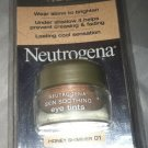 Neutrogena Skin Soothing Eye Tint * 01 HONEY SHIMMER * Lasting Cool Sensation BN