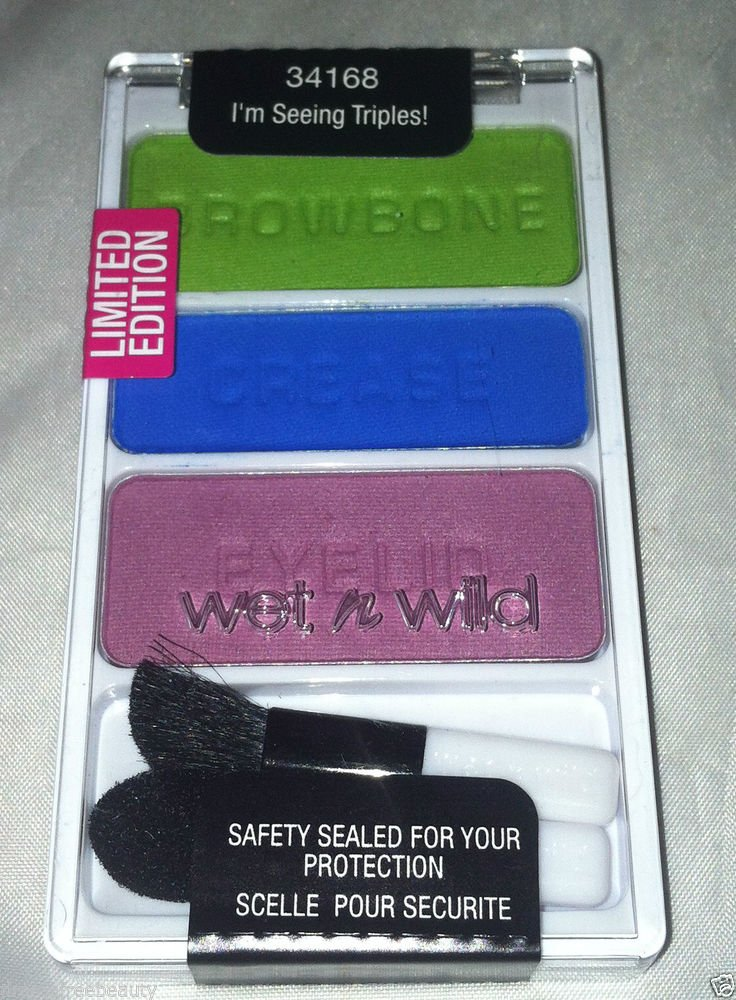 Wet n Wild Color Icon Eye Shadow Trio * 34168 I'M SEEING TRIPLES !  * Sealed New