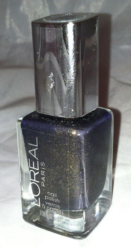 L'oreal Limited Ed. TAKE FLIGHT Colour Riche Nail Polish 290 *OWL'S NIGHT* Olive