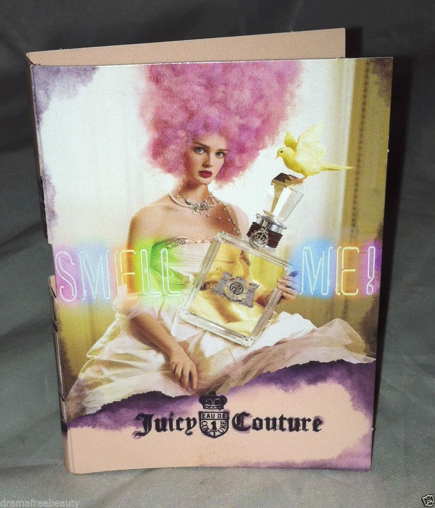 Juicy Couture SMELL ME Eau De Parfum Spray Sample/Travel 1.5mL New Carded