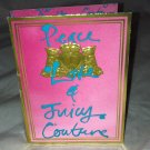 Juicy Couture PEACE LOVE Eau De Parfum Spray Sample/Travel 1.5mL New Carded
