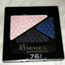 Rimmel London Glam Eyes Trio Eye Shadow * 761 SAPPHIRE MOONSTONE * Sealed New