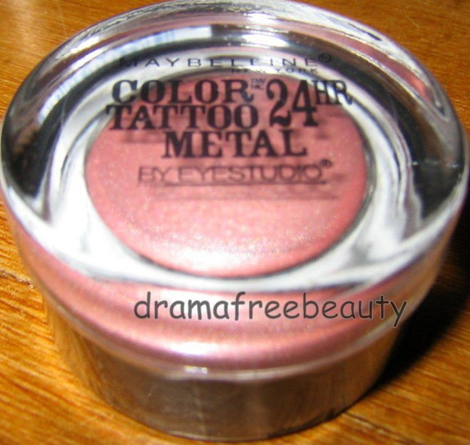 BN Maybelline Lmtd Ed. COLOR TATTOO 24HR Cream Gel Eye Shadow 55 *INKED IN PINK*