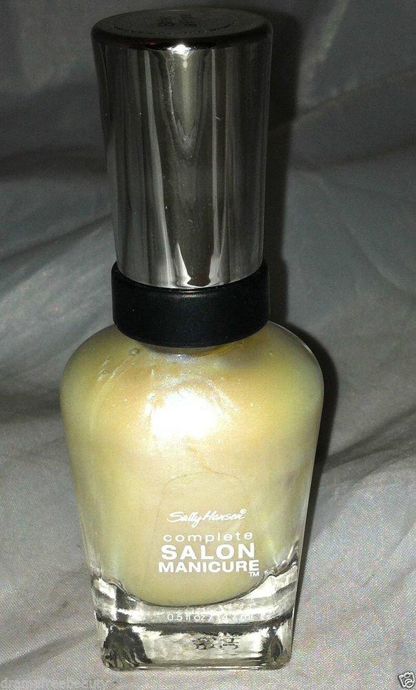 Sally Hansen Complete Salon Manicure Nail Polish * STRIKE A POSE *  Opalescent