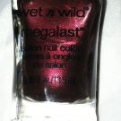 Wet n Wild MegaLast Nail Polish *UNDER YOUR SPELL* Brown Base w/Wine Red Shimmer