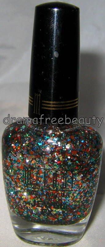 Milani JEWEL FX Nail Polish *530 GEMS* Multi-Colored Confetti Party Hex Glitters