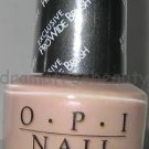 Opi GARDEN PARTY Nail Lacquer Polish *MOD HATTER* Sheer Gray Lilac wPink Shimmer