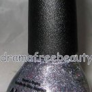 Nicole Exclusive Nail Polish *LOOK AT ME, LOOK AT ME* Silver Red Shimmer/Glitter