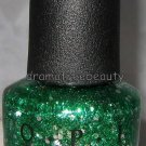 OPI MUPPETS Nail Lacquer Polish *FRESH FROG OF BEL AIR* Green Silver Hex Glitter