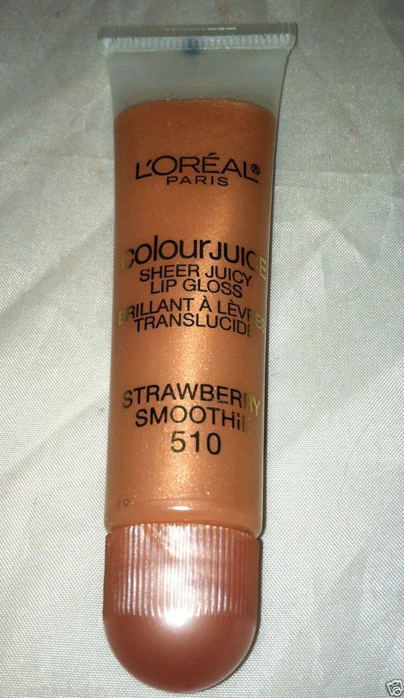L'Oreal Colour Juice Sheer Juicy Lip Gloss * 510 STRAWBERRY SMOOTHIE * New