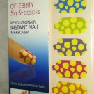 Broadway Nails Nail Dress 28 Stick-On Polish Wraps *POLKA DOTS*  Design BNIB