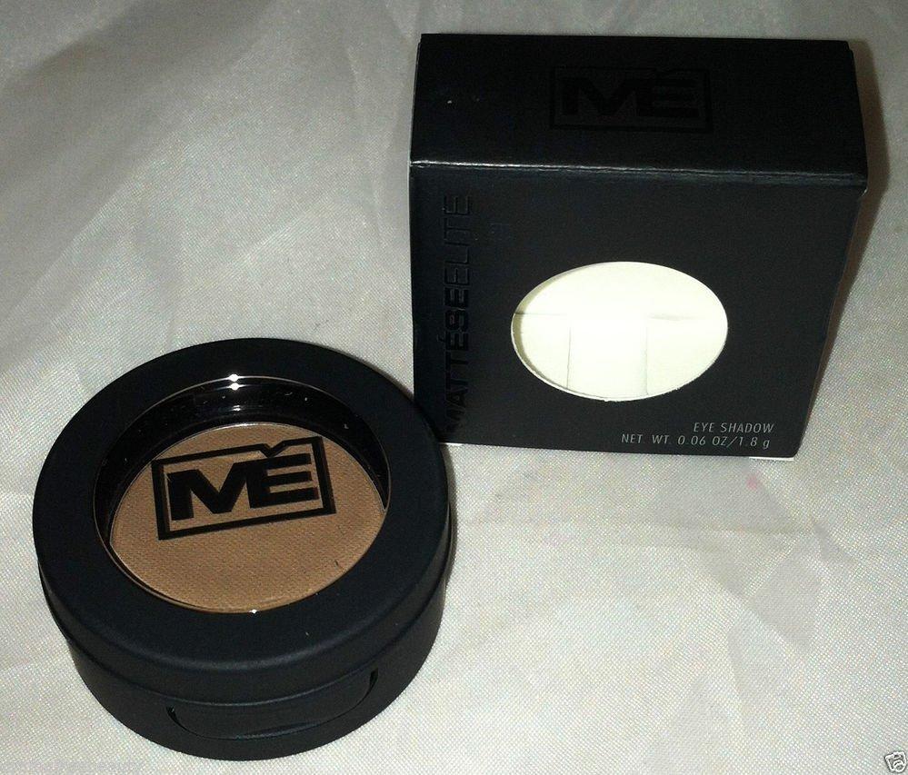 Mattese Elite Silky Soft Matte Eyeshadow * LEATHER * Medium Brown Long Wear BNIB