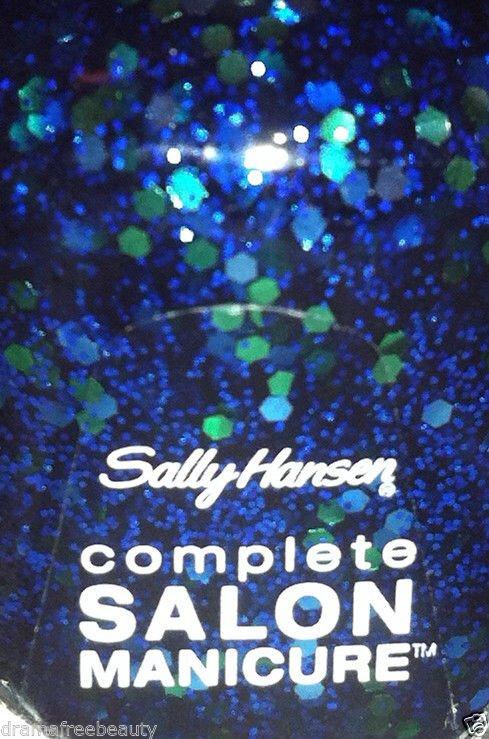 Sally Hansen Complete Salon Manicure Nail Polish *560 MERMAID'S TALE* Blue/Green