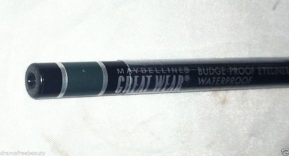 Maybelline Great Wear Waterproof Eyeliner * 10 JADE * Sealed Brand New