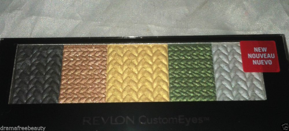 Revlon Custom Eyes Shadow & Liner * 025 METALLIC CHIC * Sealed Brand New