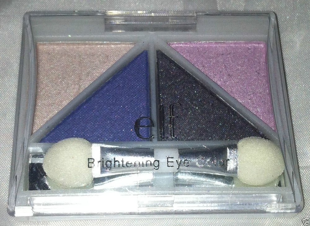 ELF Brightening Eye Color * SILVER LINING * Long-Wearing Form.Easy Blending New