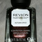 Revlon parfumerie Scented Nail Polish * 100 AUTUMN SPICE * Brown Base Duo Chrome