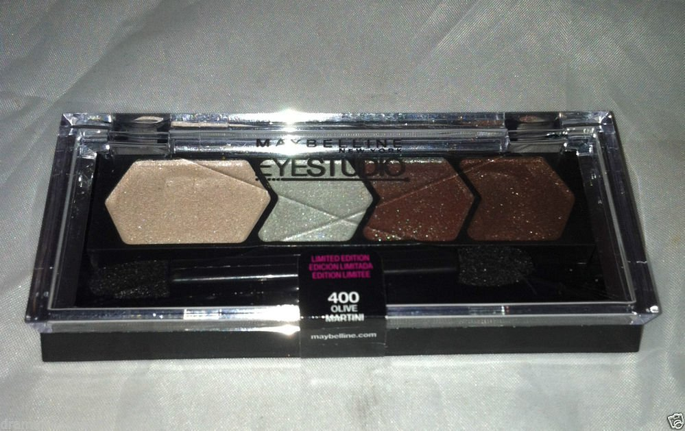 Maybelline Eye Studio Eyeshadow * 400 OLIVE MARTINI * Limited Edition Sealed