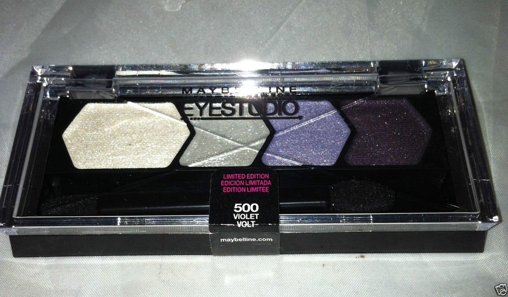 Maybelline Eye Studio Eyeshadow * 500 VIOLET VOLT * Limited Edition Sealed