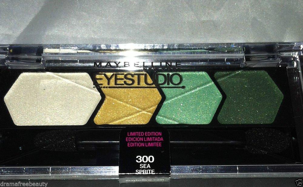 Maybelline Eye Studio Eyeshadow * 300 SEA SPRITE * Limited Edition Sealed