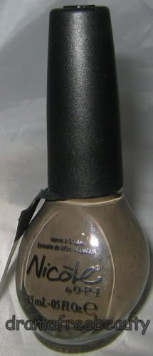 Nicole OPI Kardashian Nail Polish * MY EMPIRE... MY RULES * Mushroom Taupe Cream