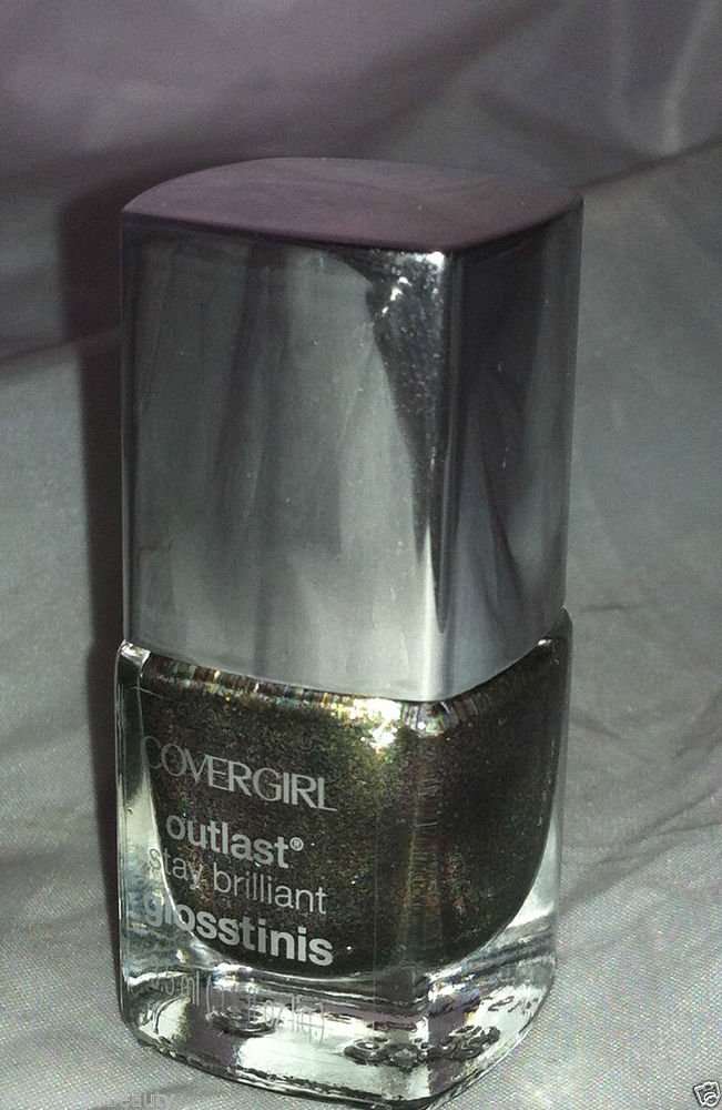 CoverGirl Outlast Stay Brilliant Glosstinis Nail Polish * 635 SCALDING EMERALD *