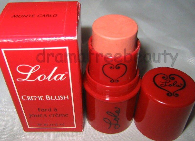 Lola Creme Blush in *MONTE CARLO* Natural Peach Nude/Rose Glow $20+ BNIB