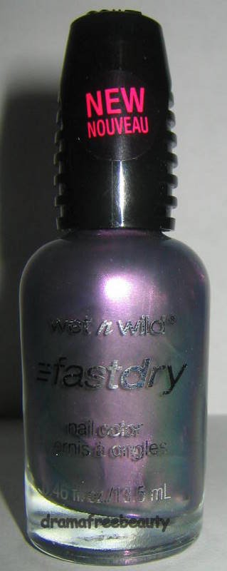 Wet n Wild Fast Dry Nail Color * GRAY'S ANATOMY * Silver Purple Green Duo Chrome