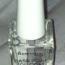 Rimmel Base/Top Coat Pro Nail Polish *100 Base&Top Coat* Clear 10 Day Wear New