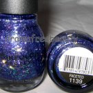 BN Sinful Colors Nail Polish *FACETED* Purple Micro& Iridescent Confetti Glitter